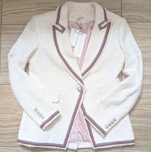 Veronica Beard Cutaway Dickey Jacket